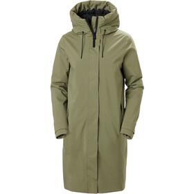 Helly Hansen Victoria Insulated Rain Coat Women, groen